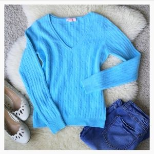 Lilly Pulitzer 💙 Cashmere Sweater